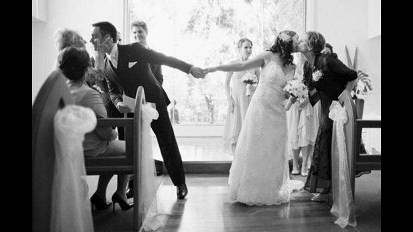 12 fotos originales de bodas que vas a querer hacer en tu matrimonio