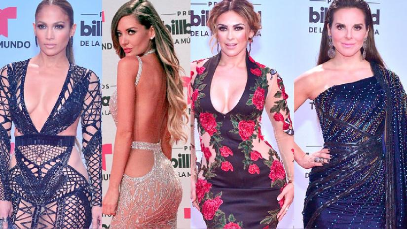Premios Billboard: Las más sexys y elegantes de la alfombra roja