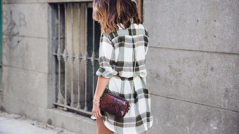 11 prendas de cuadros para armar looks diarios increíbles