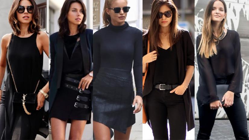 25 looks que tienes que probar si amas vestir de negro