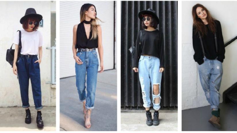7 maneras diferentes de usar boyfriend jeans sin verte masculina