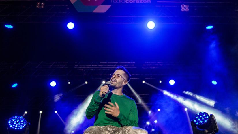 Festival Radio Corazón: Los mejores momentos de Mike Bahía y Greeicy
