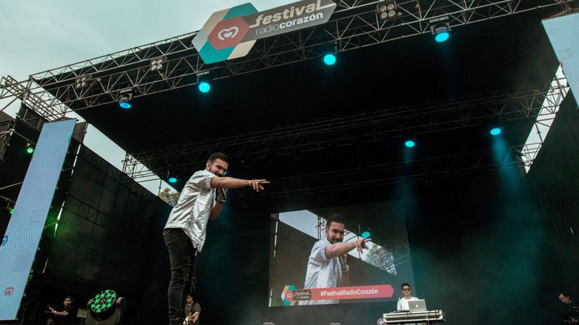 Festival Radio Corazón: Lo mejor de la presentación de Ezio Oliva
