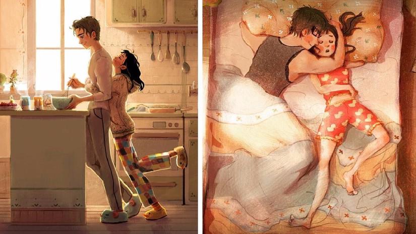 7 ilustraciones muestran que las pequeñas demostraciones de amor son las más importantes