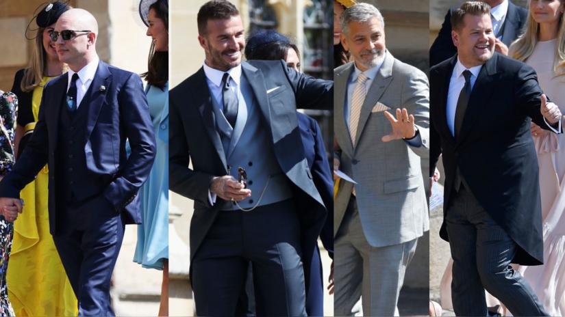 Boda Real: Tom Hardy, David Beckham y George Clooney entre los invitados