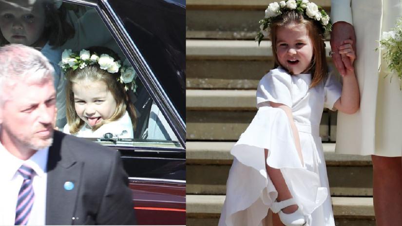 9 momentos en los que Charlotte robó la atención en la boda su tío, el Príncipe Harry