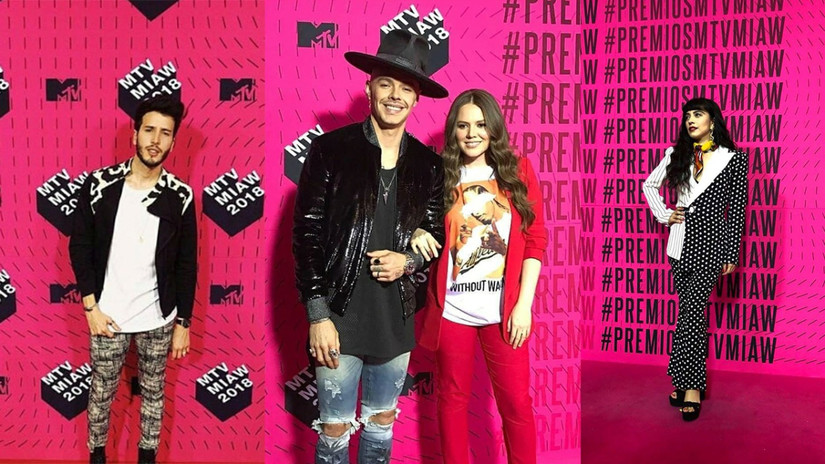 MTV MIAW 2018: Los looks de las celebridades en la alfombra rosa