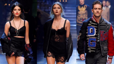 Adiós modelos: Influenciadores millenials protagonizan pasarela de Dolce & Gabbana
