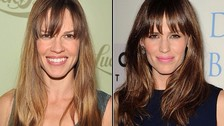 Hilary Swank y Jennifer Garner.