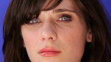 La actriz Zooey Deschanel.