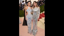 Kendall Jenner y  Cindy Crawford
