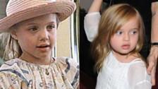 Angelina Jolie y Vivienne Jolie-Pitt con 7 años.