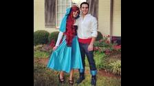 Ariel y el príncipe Erick de La Sirenita