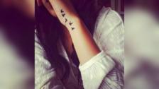 Pequeños tatuajes para chicas que te encantarán