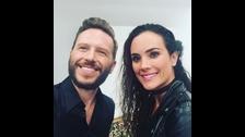 Connie Chaparro con Noel Schajris de Sin Bandera