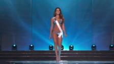 Miss Universo: Valeria Piazza se lució en traje de baño en gala preliminar