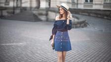Look con faldas vintage de Denin a la cintura