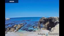 Playas de Marcona: Playa trompa de elefante (Ica - Nazca) Un paraíso de playas cerca a Lima y lo mejor es que hay variedad para todos los gustos, tallas y colores. Lo ideal es visitarlas antes de febrero para poder ver el agua lo más cristalina y turquesa posible. Estas playas se caracterizan por las grandes formaciones rocosas que albergan en ella, en este caso se puede observar un enorme elefante en ella.