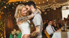 Novias con tatuajes que lucieron hermosas el día de su boda