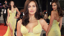 Irina Shayk reaparece en Cannes tras ser mamá de su primer hijo con Bradley Cooper