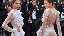 YouTube: Ángel de Victoria's Secret, Sara Sampaio, muestra trasero en Cannes