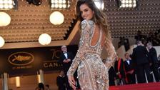 Cannes: Izabel Goulart, la brasilera más sexy de la alfombra roja