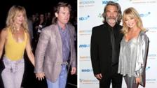 Goldie Hawn y Kurt Rusell. Aunque no están casados oficialmente, esta pareja ya lleva 34 años juntos siendo sin duda de las parejas más estables de Hollywood.