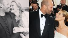 28 fotos que resumen la historia de amor de Jason Statham y Rosie Huntington-Whiteley