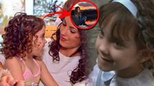 Así luce Kristel Casteele, la pequeña