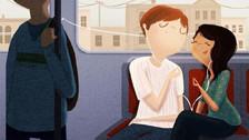 Ilustraciones de todo lo que hacen las parejas felices