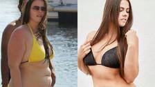 """La llamaron """"gorda"""" y ella perdió 45 kilos y se convirtió en modelo"""