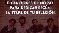11 canciones de Morat para dedicar en cada etapa de una relación