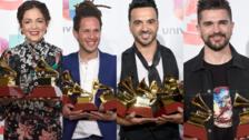 Latin Grammy: Los grandes ganadores de la noche de la música latina