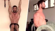 Chris Hemsworth: El salvaje entrenamiento del actor para mantener su cuerpo