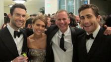 Fue compañero de colegio de algunos miembros de Maroon5 y es muy amigo de Adam Levine