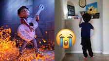 Niño de 4 años le canta