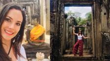 Connie Chaparro comparte imágenes de su viaje por Camboya