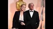 Meryl Streep y Don Gummer. La mejor actriz del mundo está casada con Don, un escultor, desde 1978.
