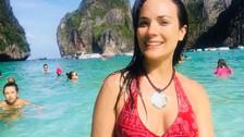 Facebook: Connie Chaparro despide sus vacaciones en Asia con emotivo mensaje