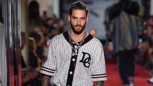 Maluma desfiló y cantó para Dolce & Gabbana en el Milan Fashion Week