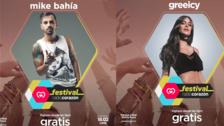 Maike Bahía y Greeicy completan el cartel del Festival Radio Corazón