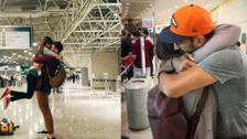 8 parejas en aeropuertos que demuestran que el amor a larga distancia sí existe
