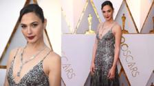 Oscars 2018: Gal Gadot brilló con un look inspirado en los años 20