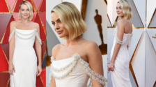 Margot Robbie en los Oscar 2018: La más sexy y elegante de la noche en Chanel
