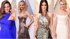 Oscar 2018: Los mejores looks de la alfombra roja