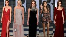Fiesta Vanity Fair Oscar 2018: Escotes y aberturas de las mejor vestidas