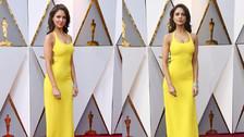 Eiza González: Ralph Lauren firmó el vestido que usó en los Oscar 2018