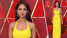 Eiza Gónzales pide dejar los ataques tras las críticas a su vestido en los Oscars