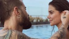 Instagram: Mike Bahía se tatuó la cara de Greeicy Rendón en la nalga