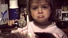 Stephanie Cayo comparte en Instagram video inédito cantando a los 3 años